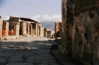 Näkymä Vesuviukselle, Pompeji