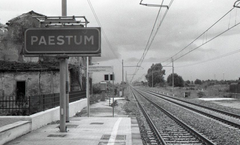 Rautatieasema,  Paestum