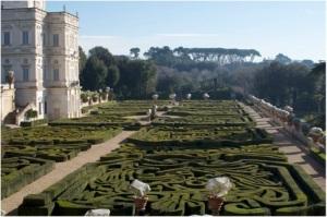 Villa Doria Pamphilin puistoa