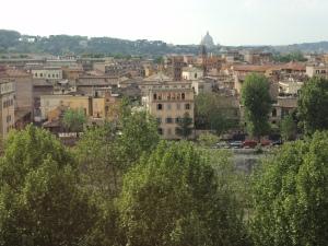 Villa Lante nähtynä Aventino-kukkulalta