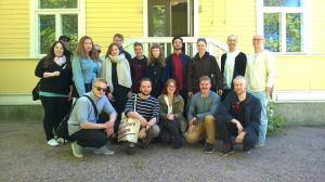 GT-kurssilaiset ryhmäkuvassa, jonka on ottanut kurssin vetäjä Juhana Heikonen