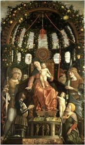 Kuva 4. Andrea Mantegna Madonna della Vittoria.