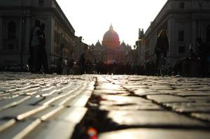 KUVA: Via della Conciliazione, kuva Maria Covino
