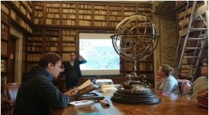 Humanismia, käsikirjoituksia ja karttoja Wouter Bracken seurassa. Biblioteca Corsiniana.