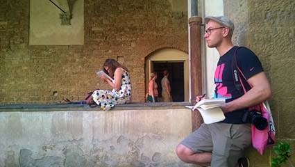 Suomalaisten arkkitehtiopiskelijoiden Italian-matkat