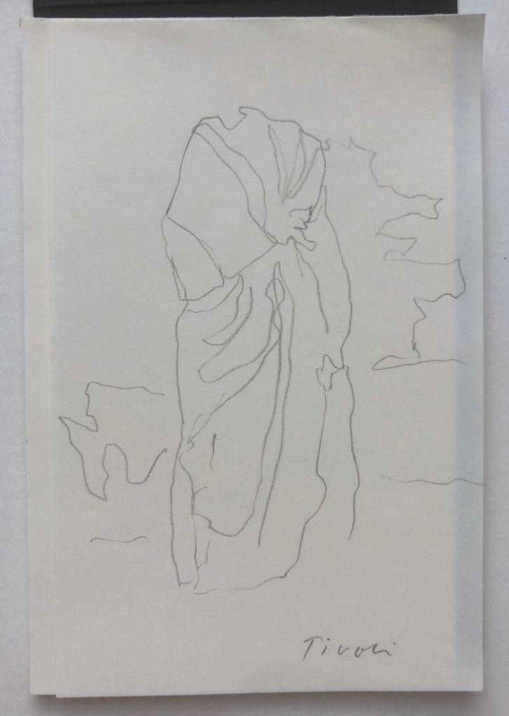 Kuvassa Tiina Lammisen piirrustus