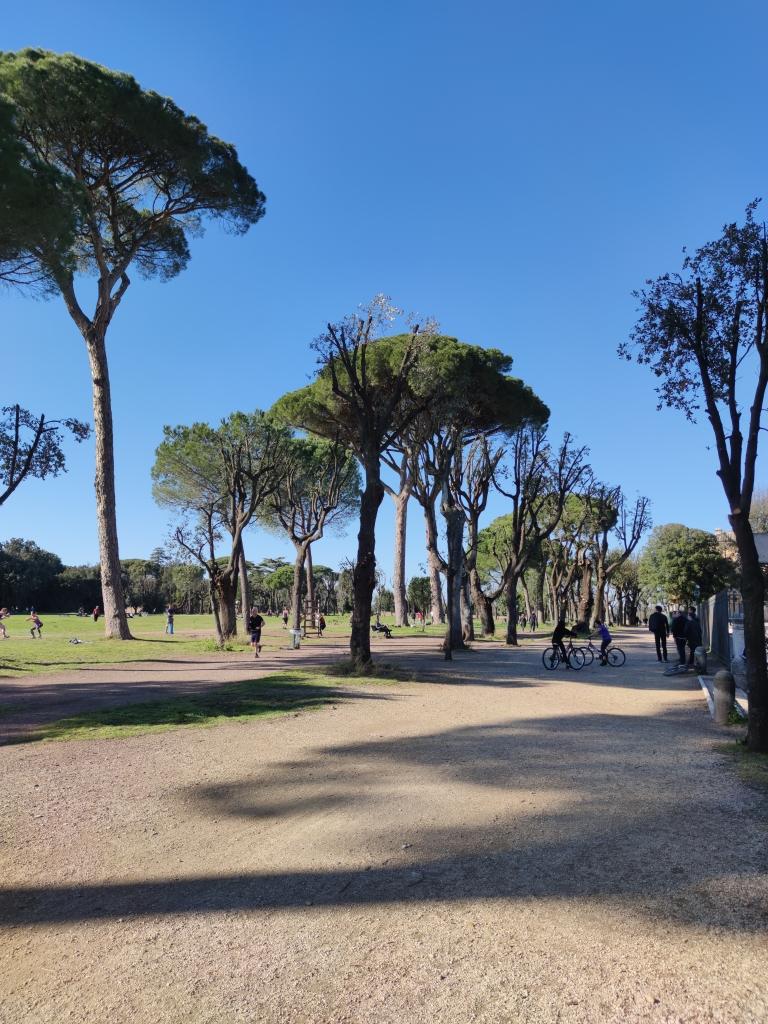 Kuva Villa Pamphili-puistosta
