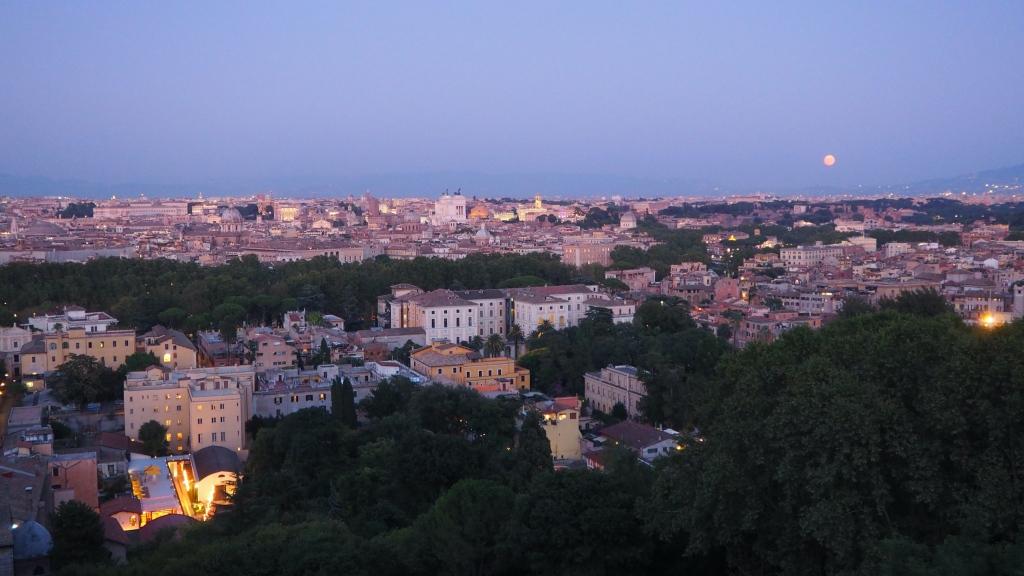 Näkymä Trastevereen.